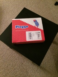 Box that Pleygo arrives in