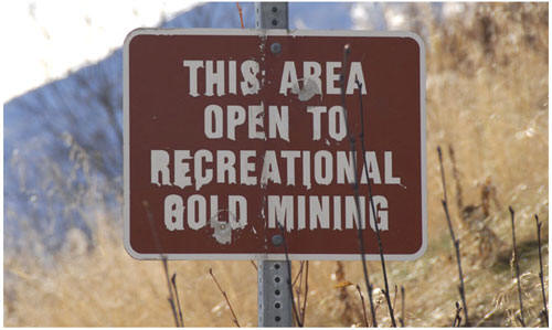 recreational mining