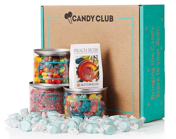 What is in a Candy Club subscription box