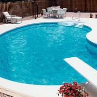 adding baking soda to pool