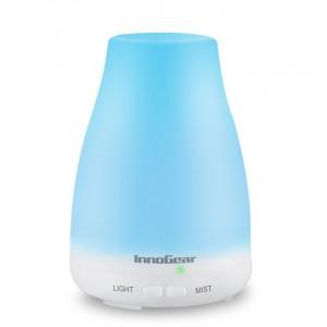 InnoGear light blue humidifier aromatherapy