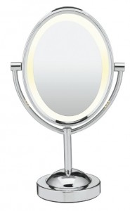 best makeup mirror review conair double sided