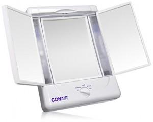 conair folding makeup mirror review