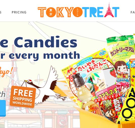 tokyotreat homepage