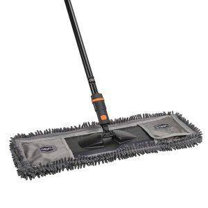 24″ SWOPT Dust Mop wMicrofiber Combo Wood Flooring Broom