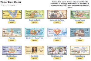 Personal Check Styles - Click for more detail