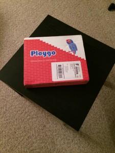 Box that Pleygo arrives in