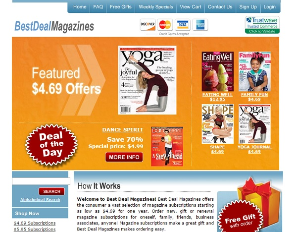 Credit Bureau Phone Number Customer Service >> BestDealMagazines.com Review – 85 out of 100 – Full Review