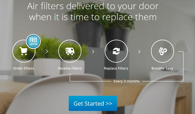 FilterSnap Air Filter Subscription Service