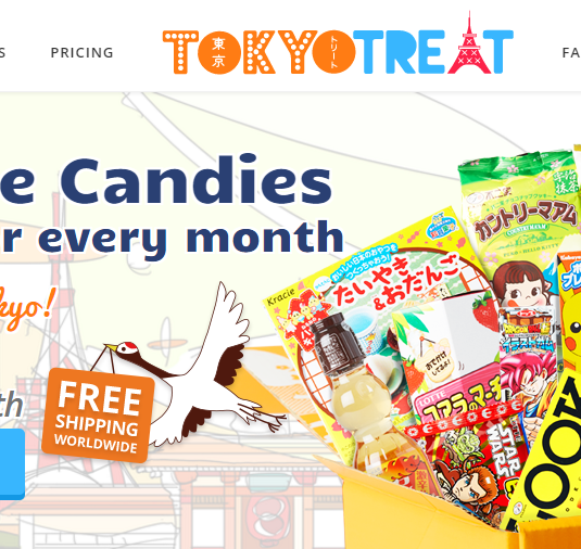 tokyotreat homepage
