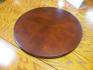 Wood Turntable For Dining Tables