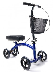 deluxe knee walker with basket review crutch alternative