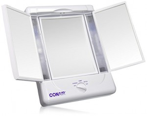 conair folding makeup mirror review