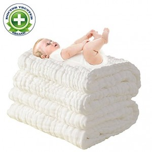 super soft muslin large baby towels
