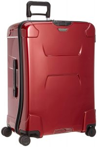 Briggs & Riley Torq-Hardside Checked Large Spinner Luggage, Ruby