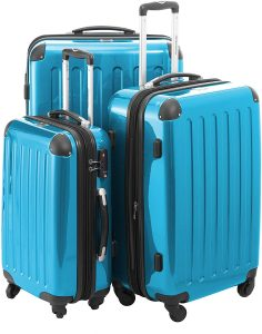 HAUPTSTADTKOFFER Luggages Sets Glossy Suitcase Sets Hardside Spinner Trolley Expandable
